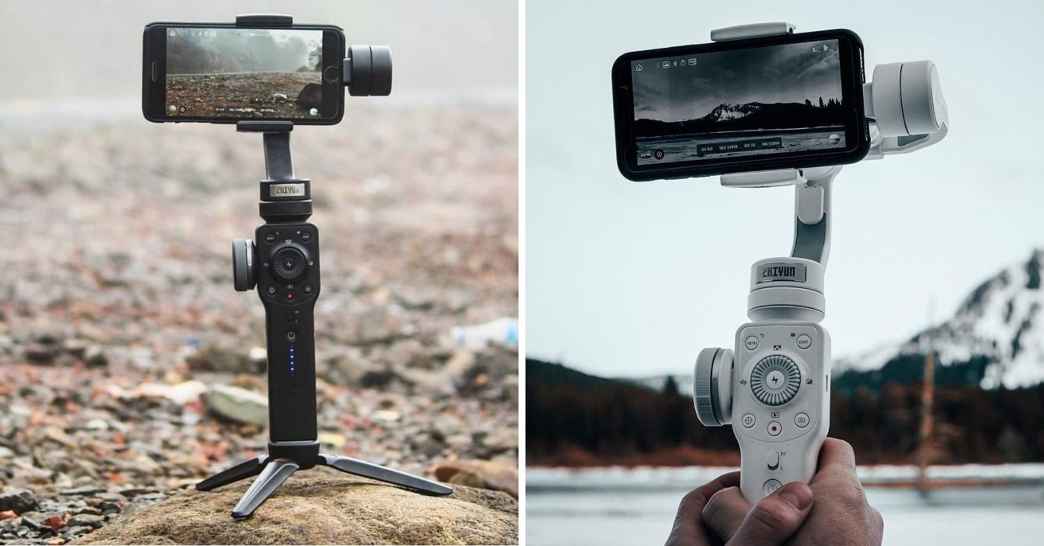 Gimbals to stabilise iphone videos