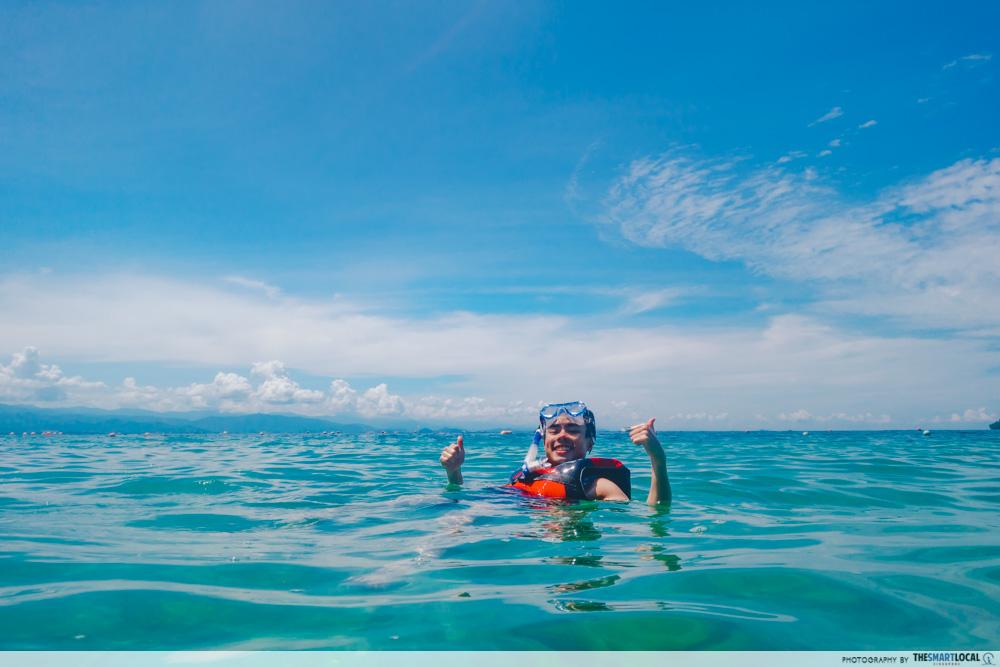 kusu island snorkelling