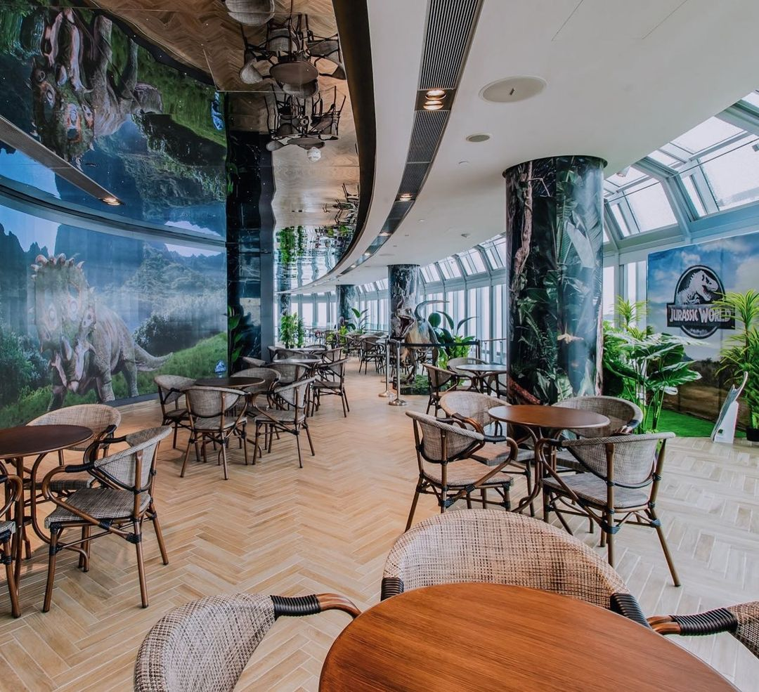 Jurassic World Cafe -New cafes and Restaurants in December 2020