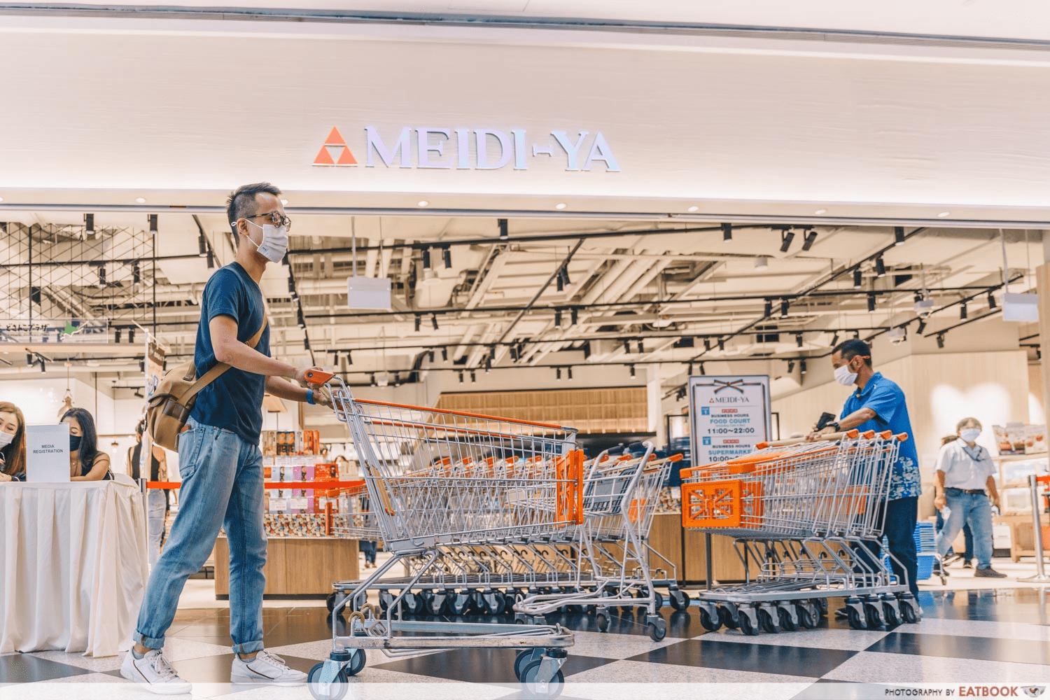 Meidi-Ya Food Hall - New cafes and Restaurants in December 2020