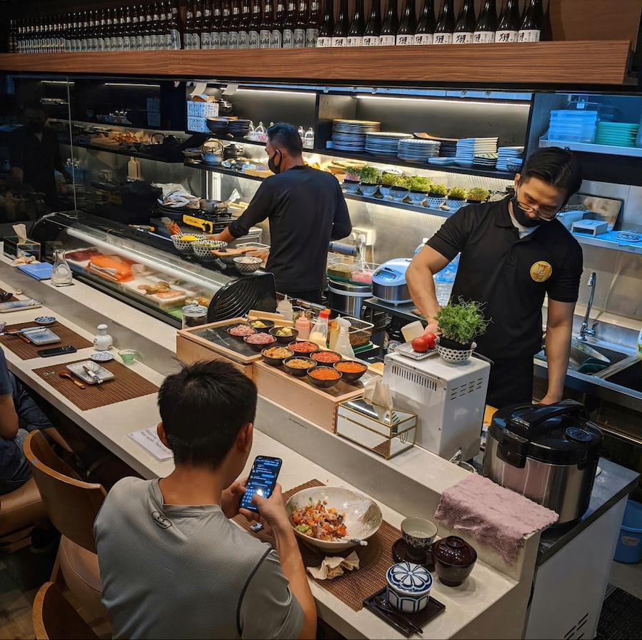 new cafes restaurants january 2021 - house of chirashi