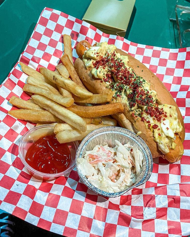 cherry diner hotdog