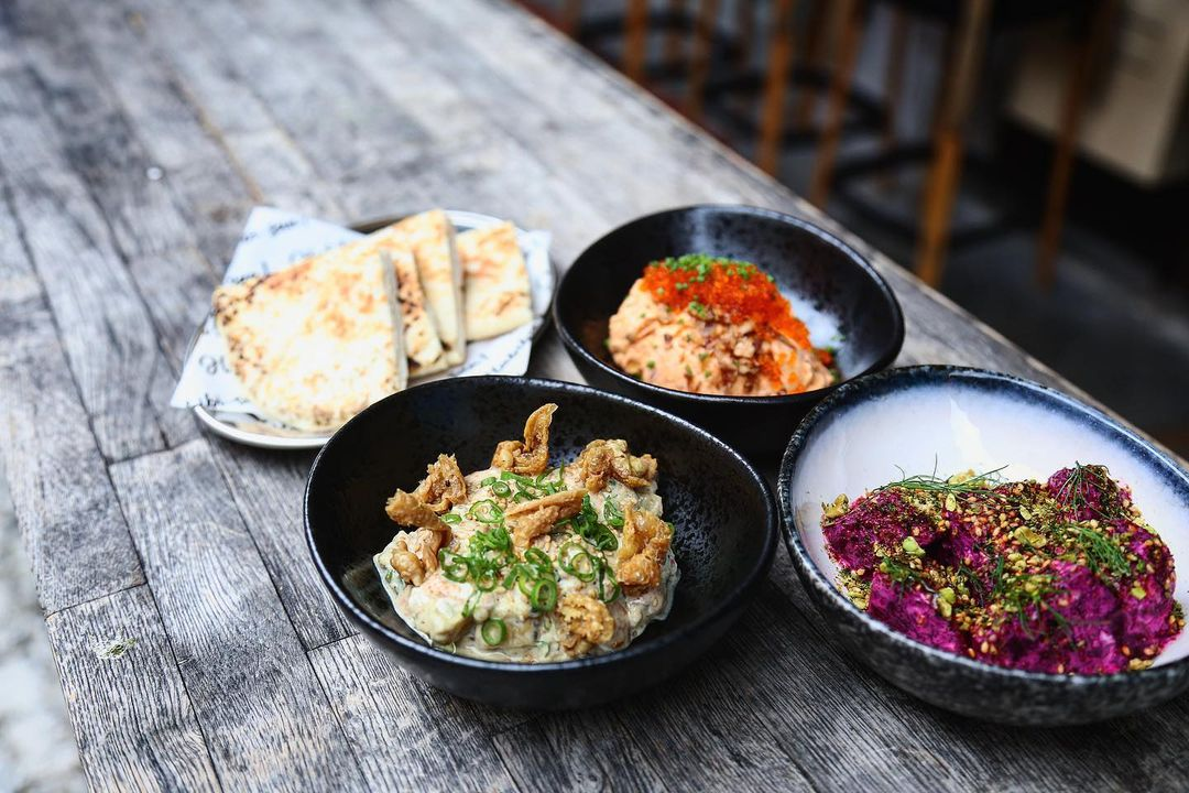new cafes restaurants january 2021 - habibi-san! mezze dishes