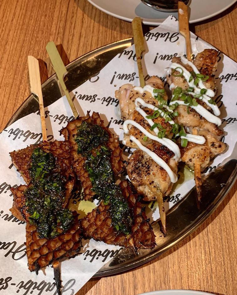 new cafes restaurants january 2021 - habibi san skewers