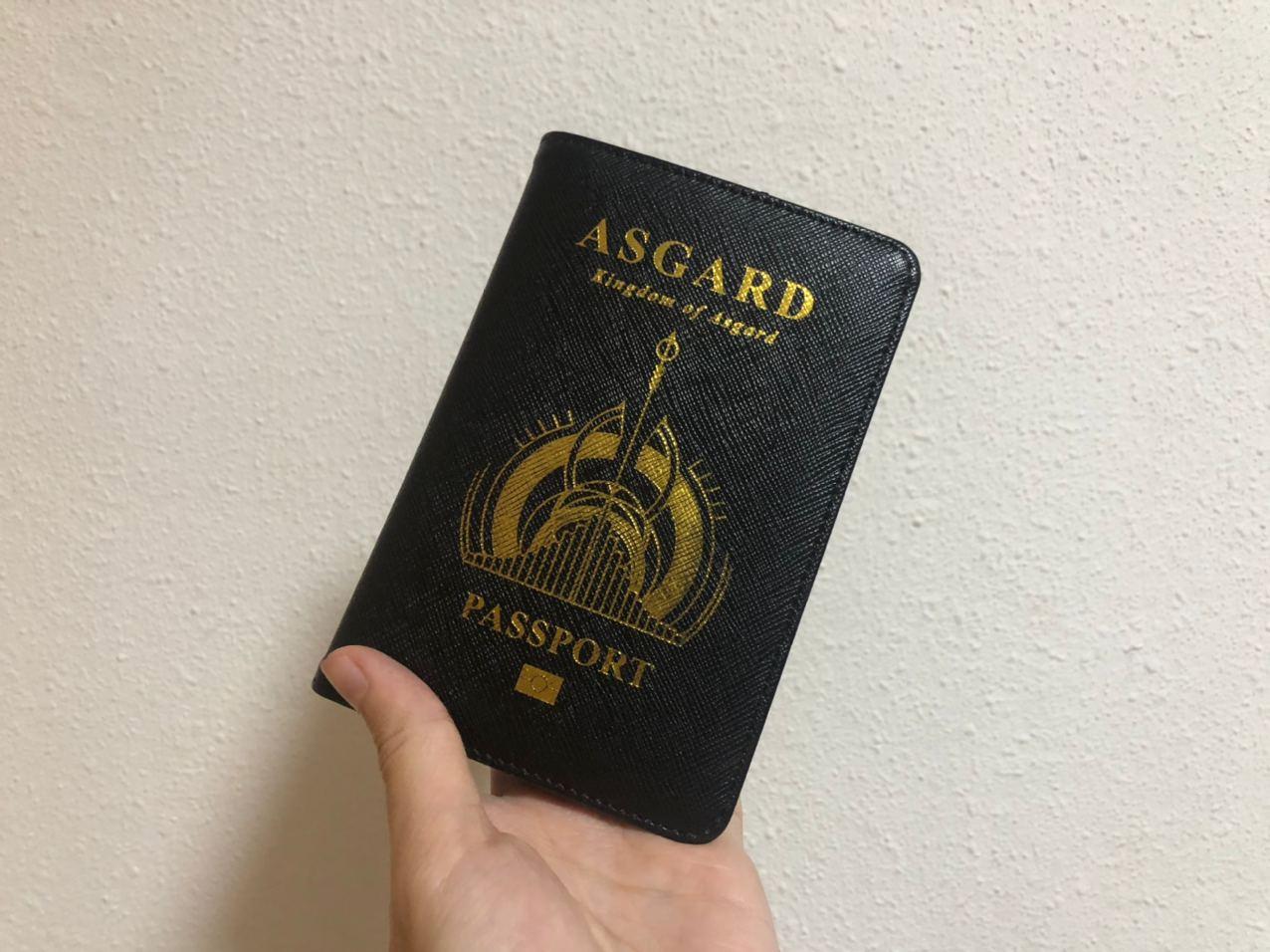 no-travel-covid-19 - marvel passport holder