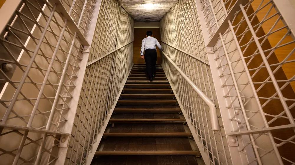 former supreme court hidden passage tour