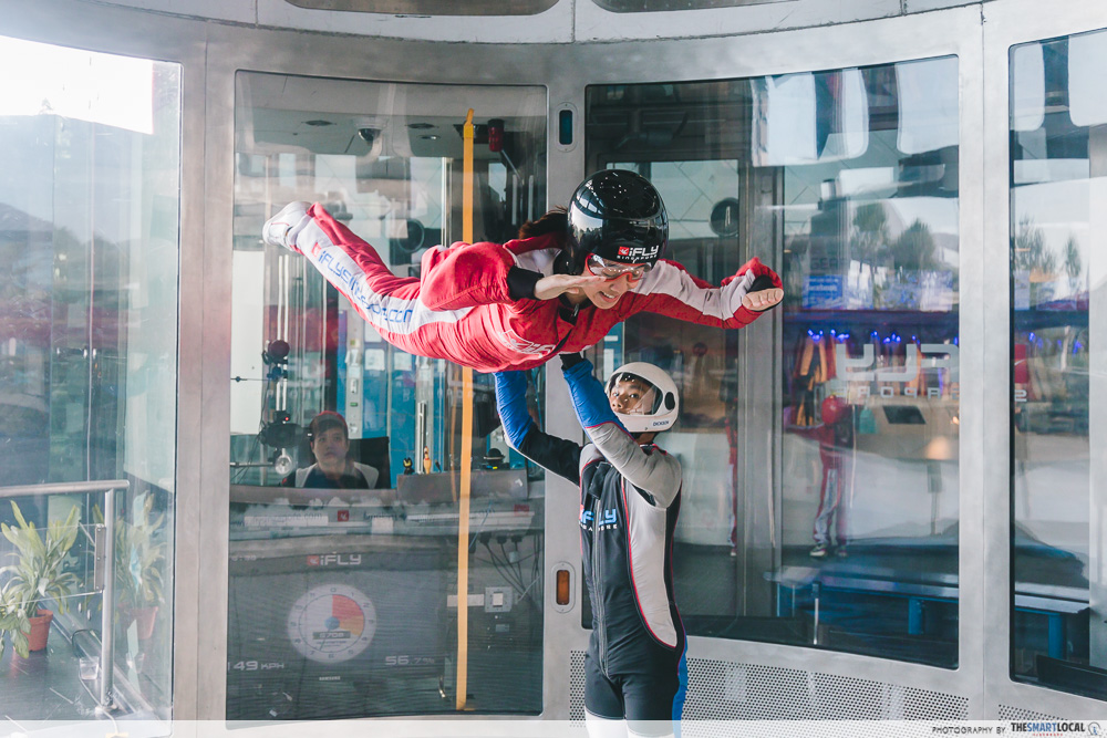 singaporediscovers vouchers itinerary ifly indoor skydiving