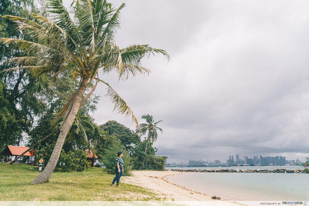 st john's and lazarus island singapore - lazarus swimming lagoon beach