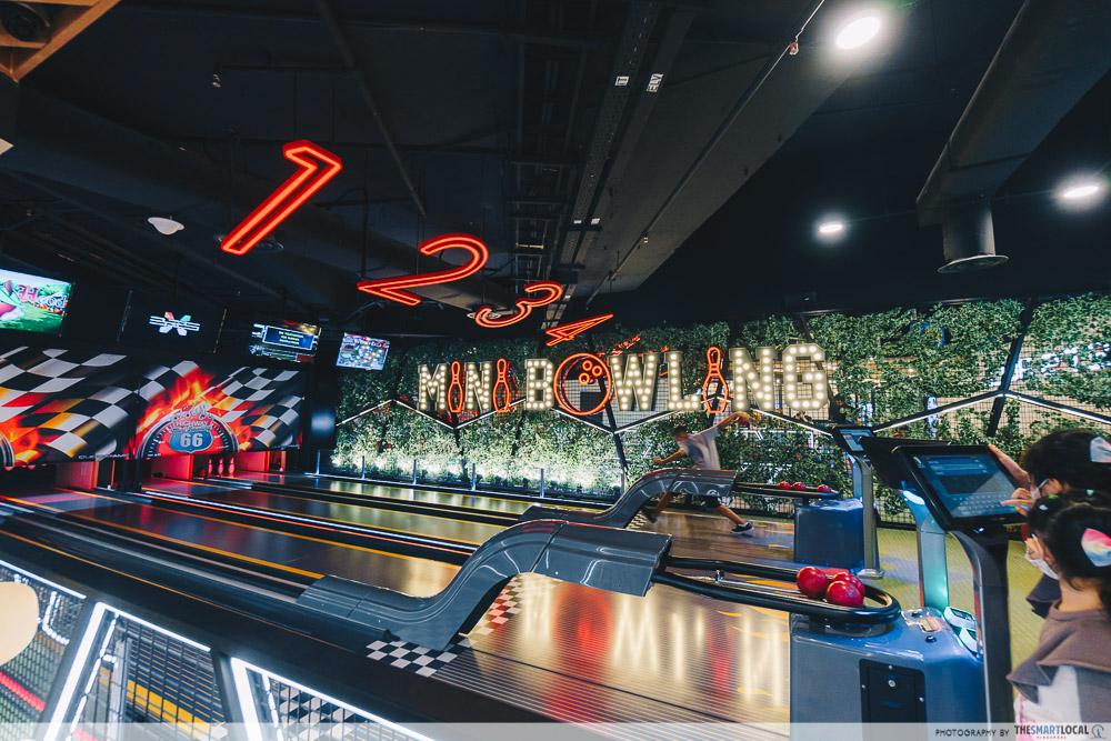 Timezone mini bowling