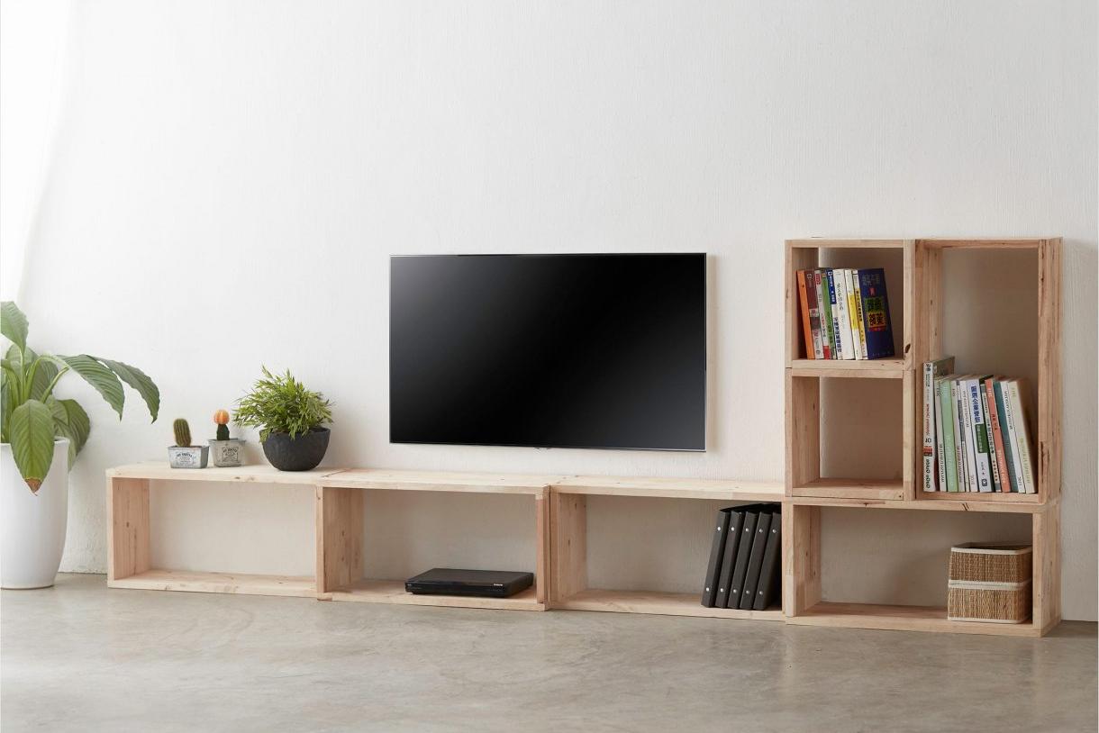 Modular box shelf