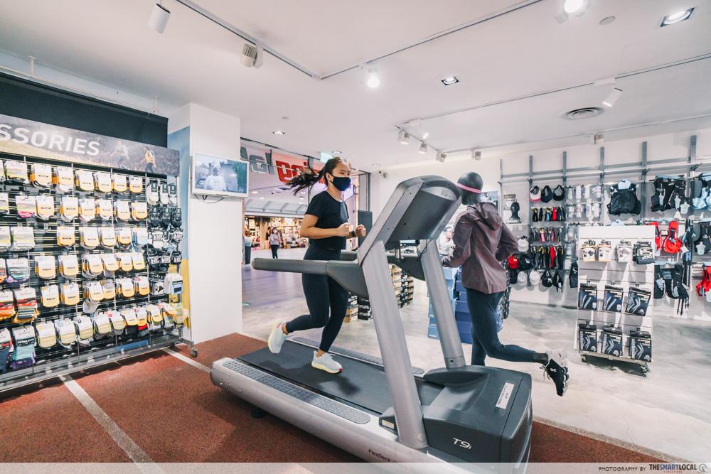velocity running lab treadmill