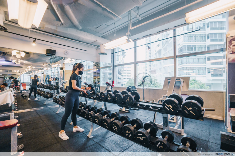 true fitness weights