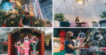 Capitol Singapore & CHIJMES Have Dome-Dining, A 3D Trick Eye Installation & Festive Workshops This Christmas