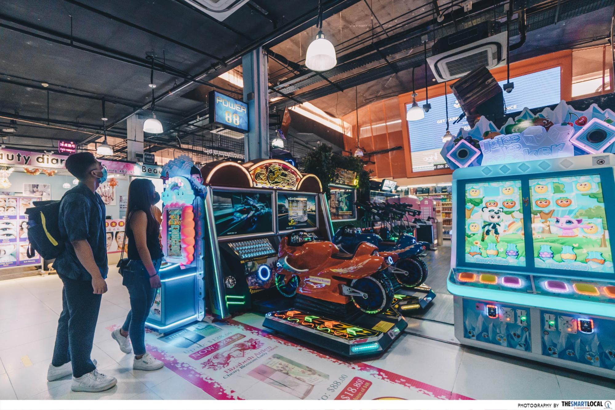 power 88 arcade