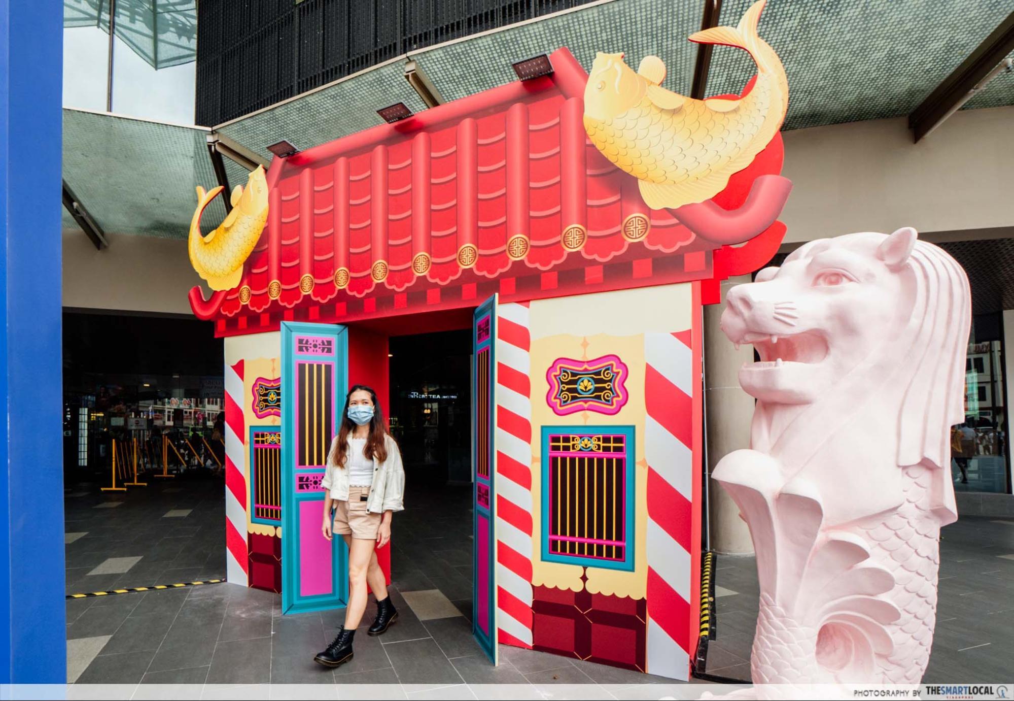 Chinatown Point CNY 2021 decor