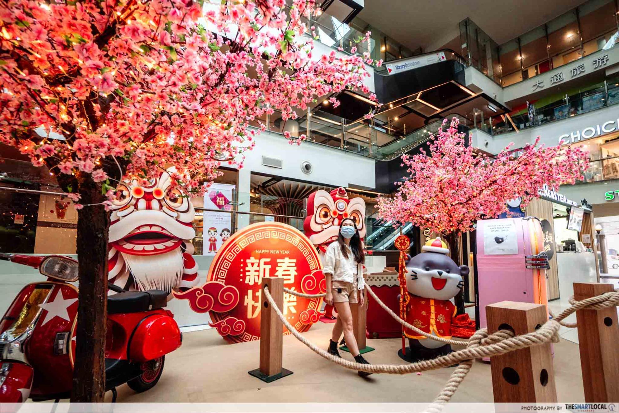 Chinatown Point CNY decor