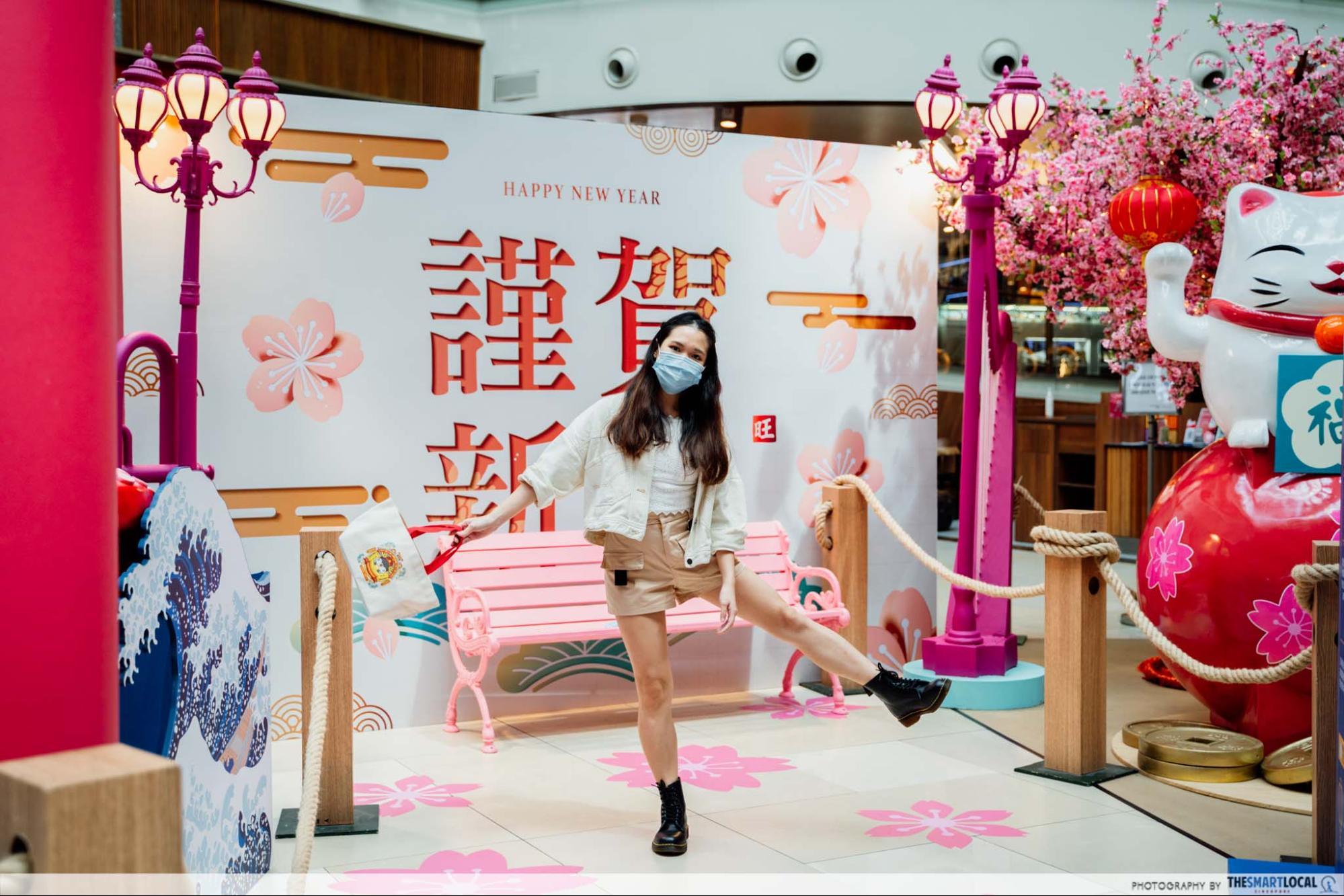 Chinatown Point CNY decor 2021
