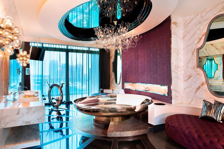 Hotel Staycation Bathtub - W Singapore-