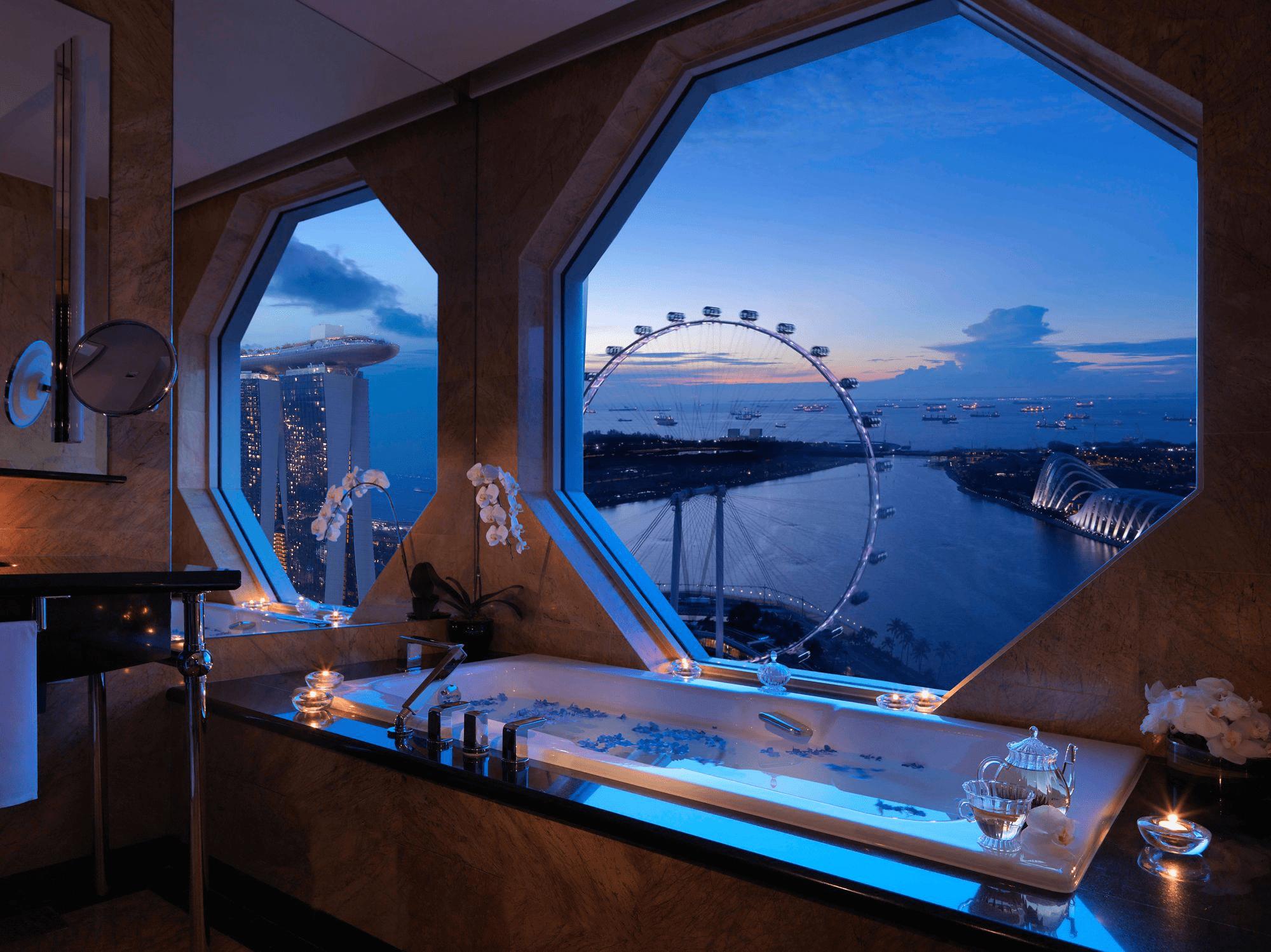 Hotel Staycation Bathtub - Ritz Carlton