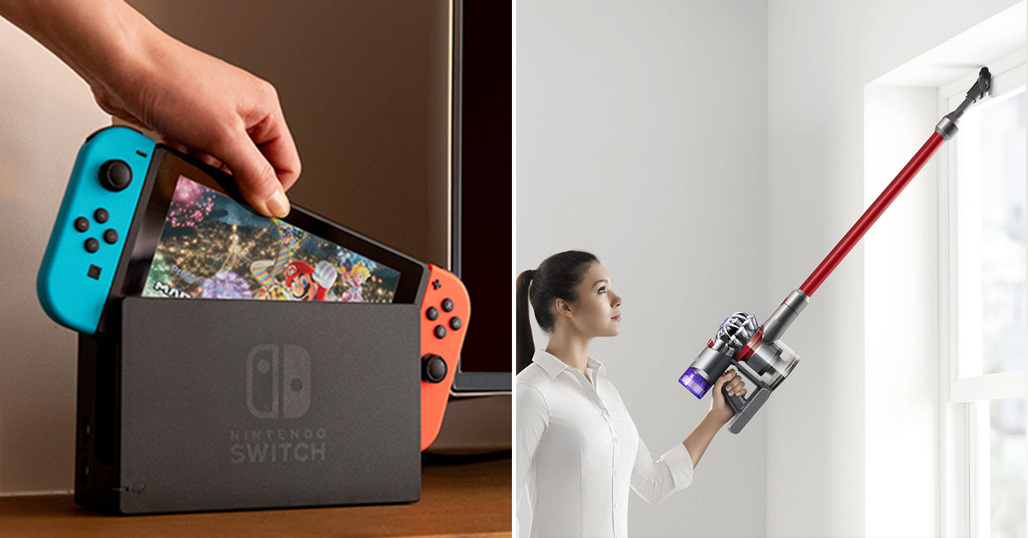 Nintendo Dyson products