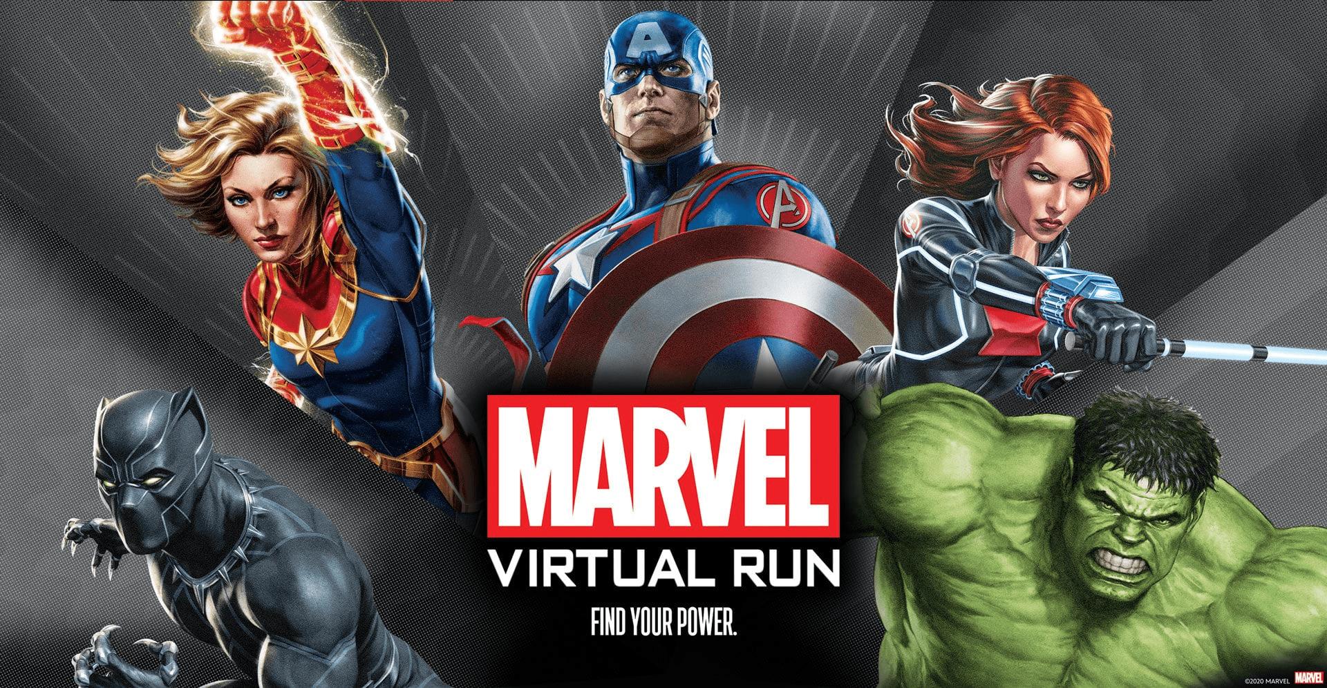 marvel virtual run