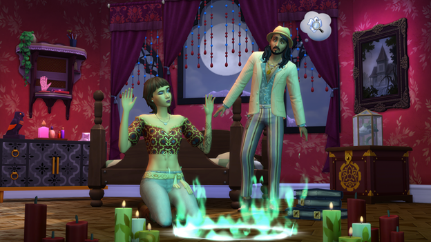 The Sims 4 Paranormal Pack Gameplay