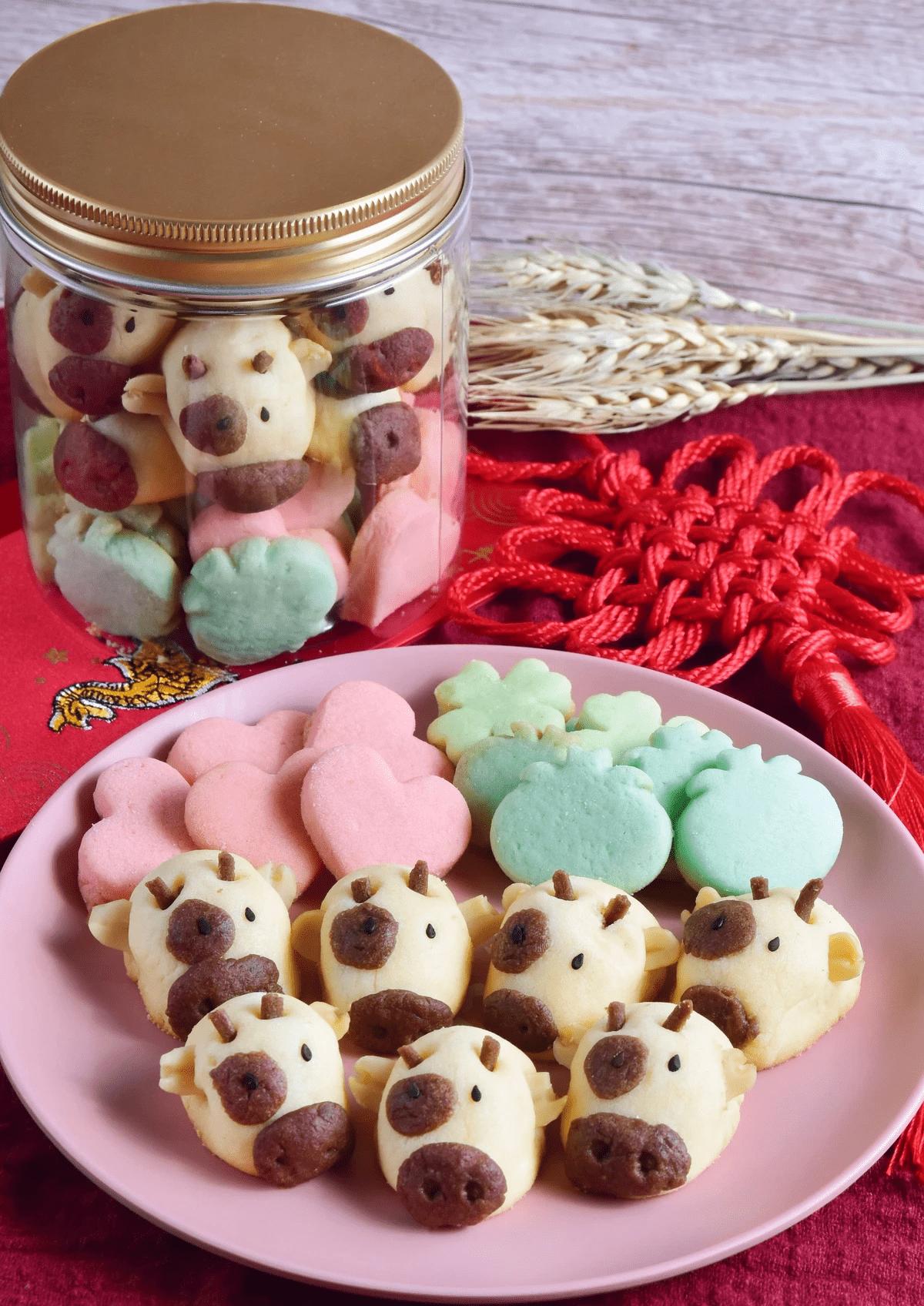 Ah Mah Moo Moo Cookies - unique cny goodies