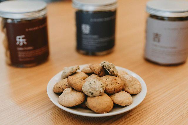 Olsen Bakehouse - lakesa, seaweed and coffee coconut cookies