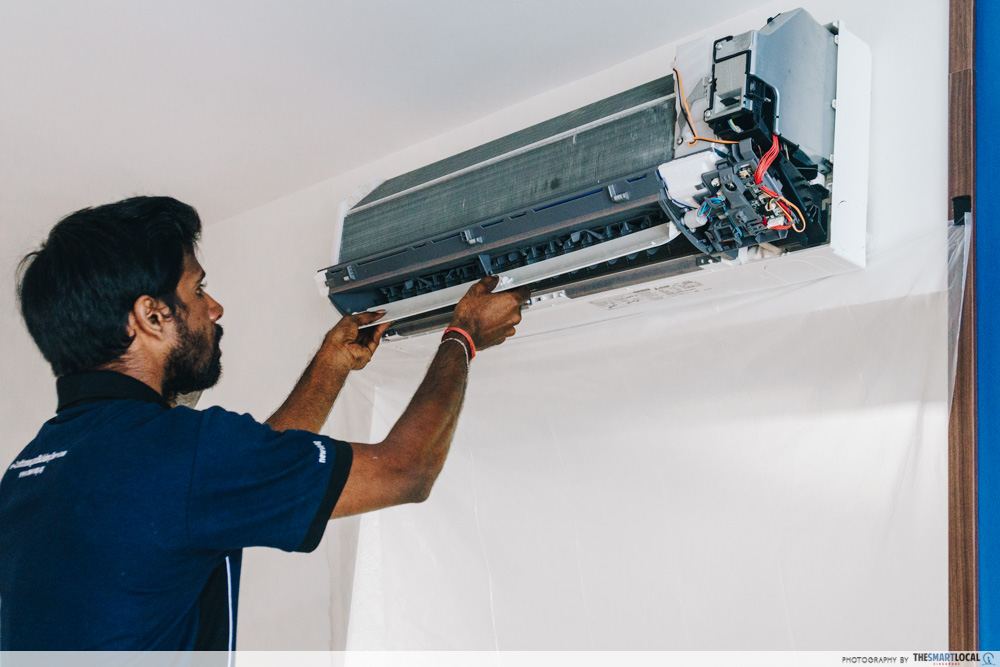 types of air conditioning services