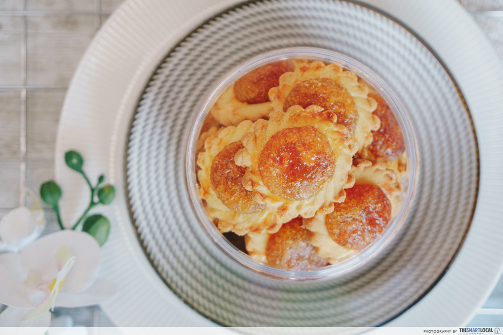 butter studio cny snacks (2) - yuzu pineapple tarts