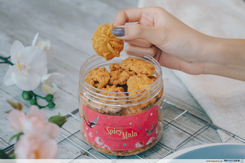 butter studio cny snacks (1) - spicy mala cookies