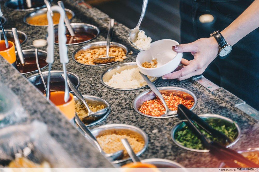 CNY hotpot kitchen gadgets (8) - haidilao dipping sauce station