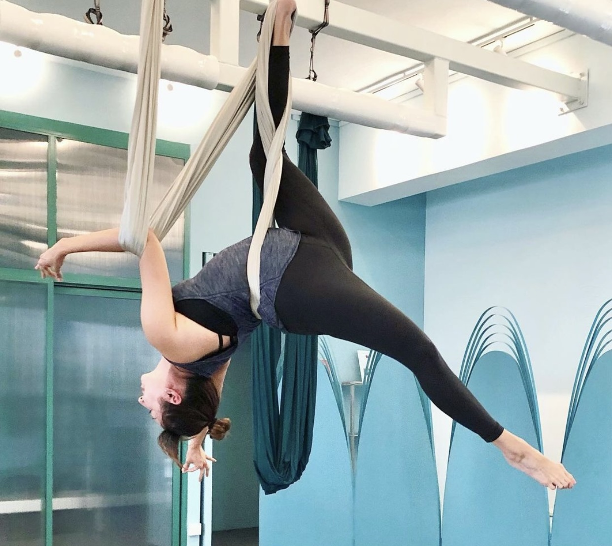 Refindery Fitness aerial yoga