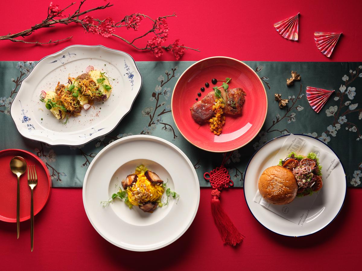 festive dishes