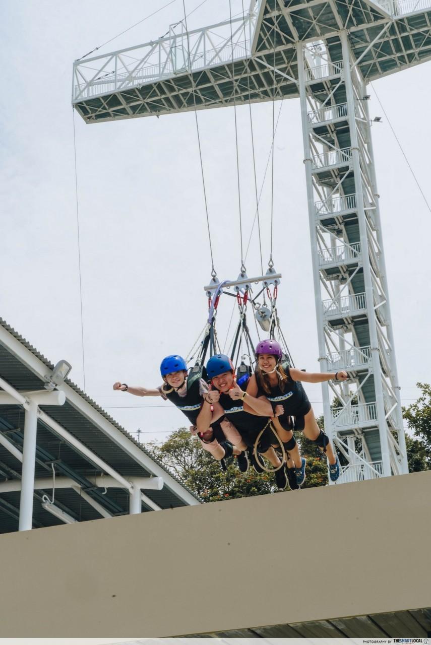 aj hackett giant swing