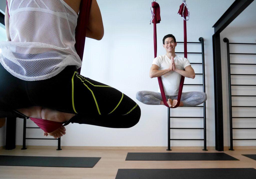 Jal Yoga student