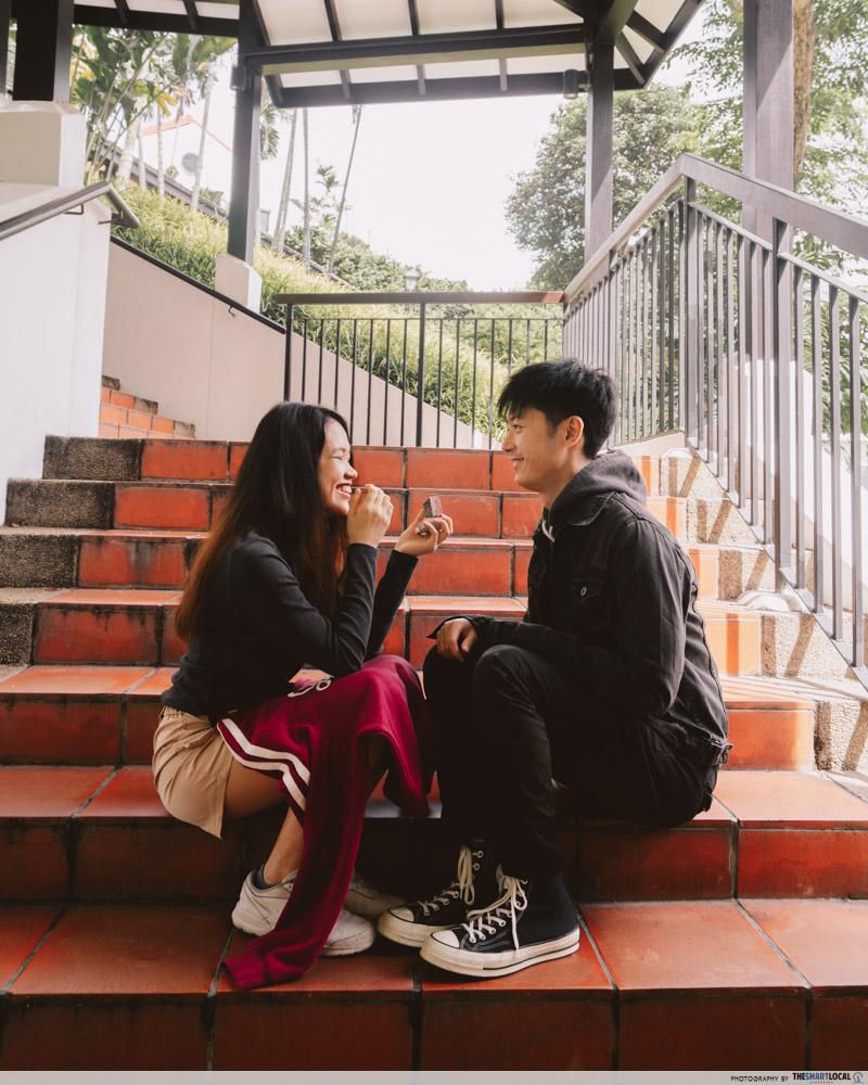 Itaewon Class Ann Siang Hill - k-drama scenes singapore
