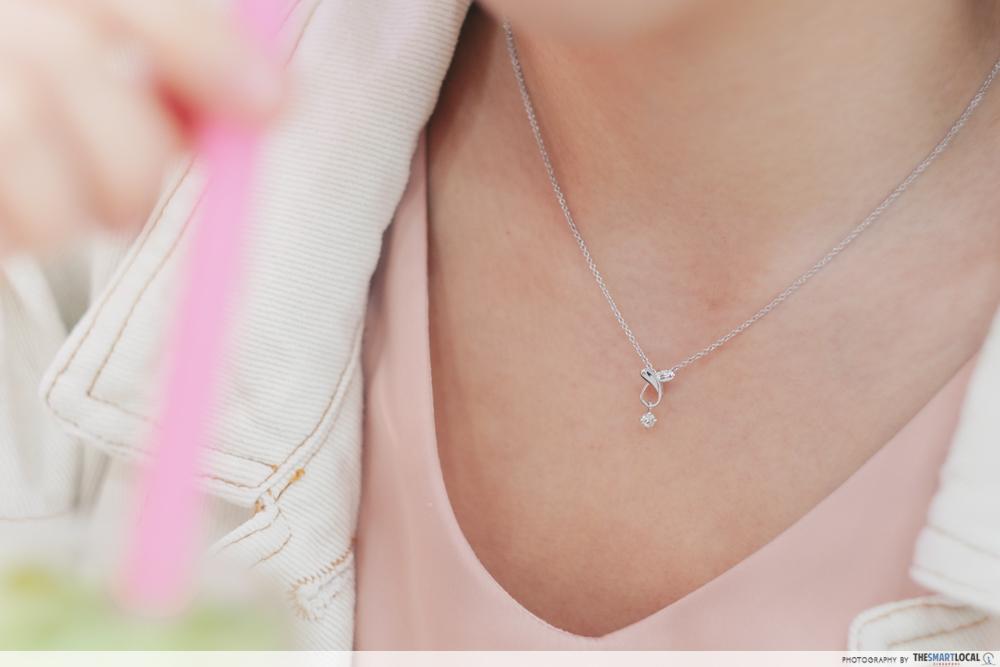 Lee Hwa Jewellery's Swing Star Lover Heart Pendant