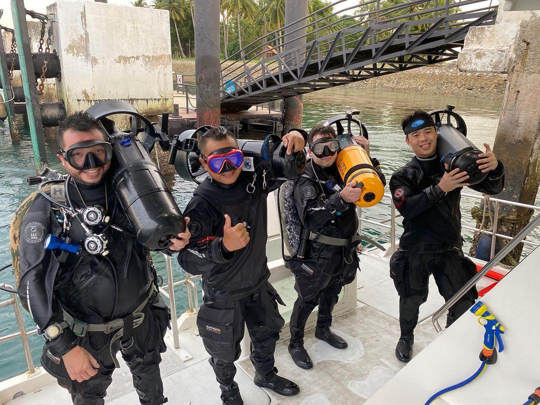pulau hantu scuba diving