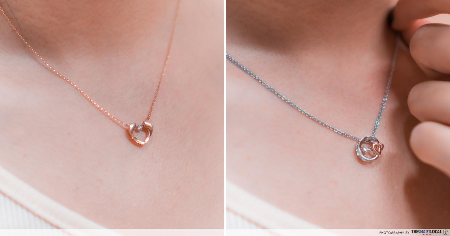 twinkle diamond necklace