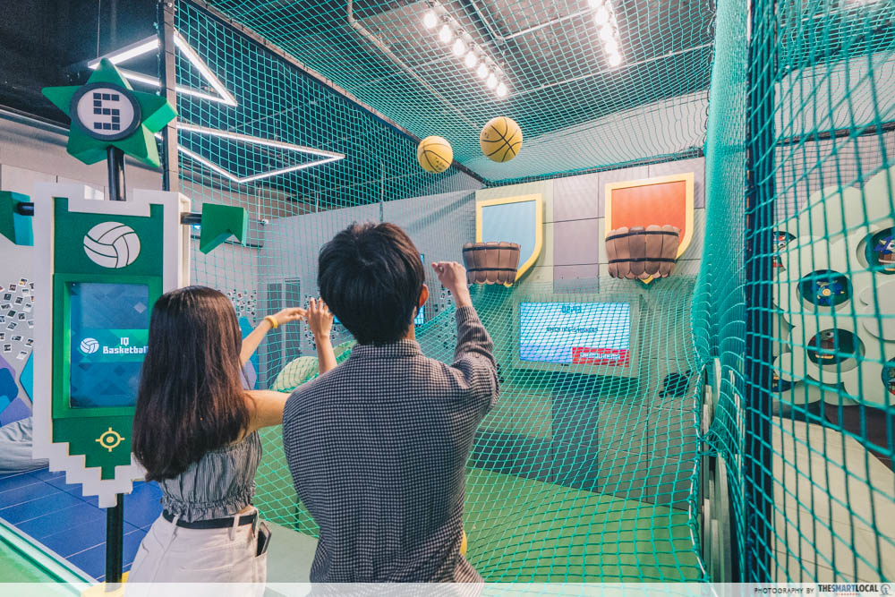 new-bugis-spots-2021 - arcade basketball game