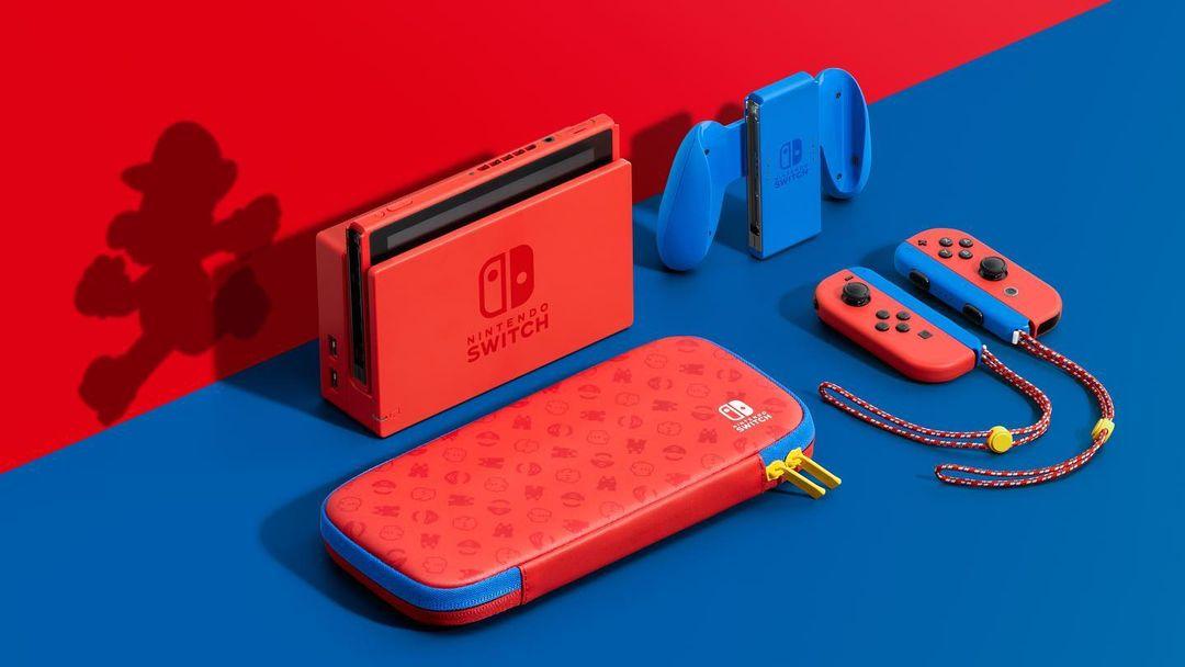 Mario console set