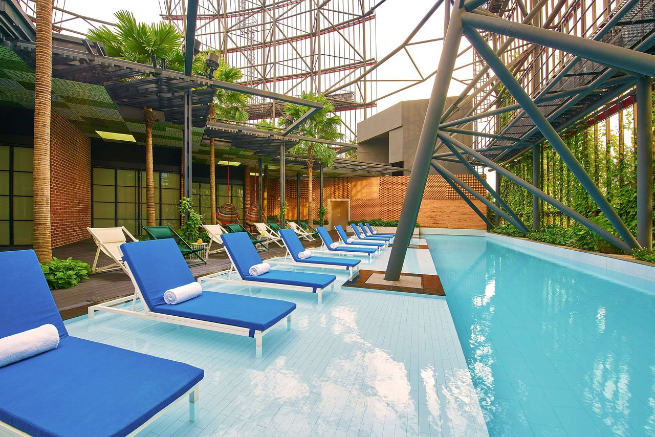 Oasia Hotel Downtown Pools