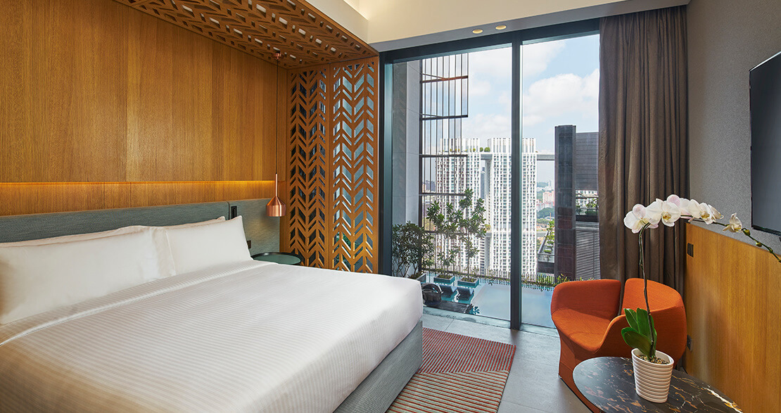 oasia hotel downtown club room