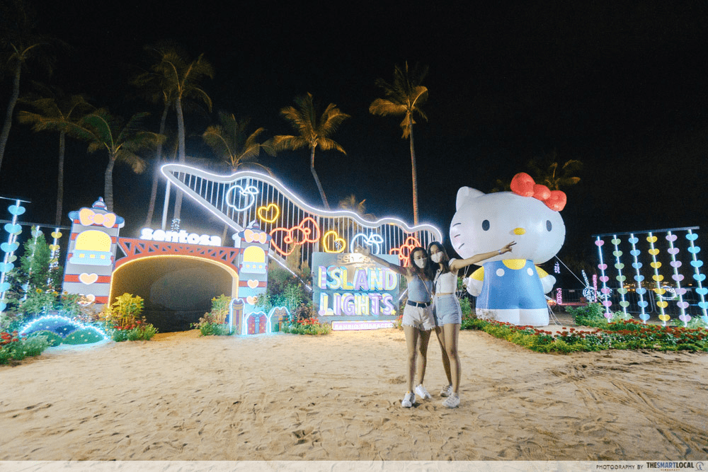 Sentosa Island Lights - Things to do in January 2021