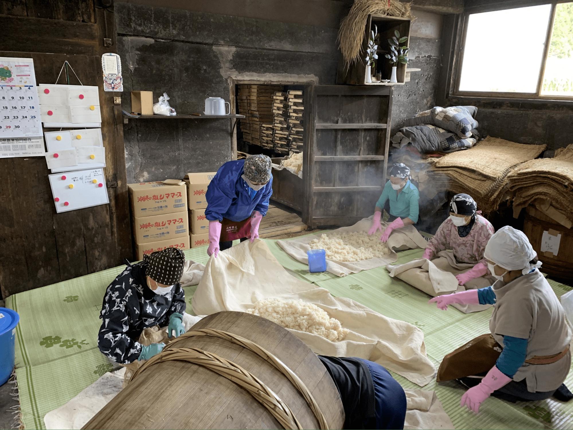 Inoue Kouji Store miso factory tour