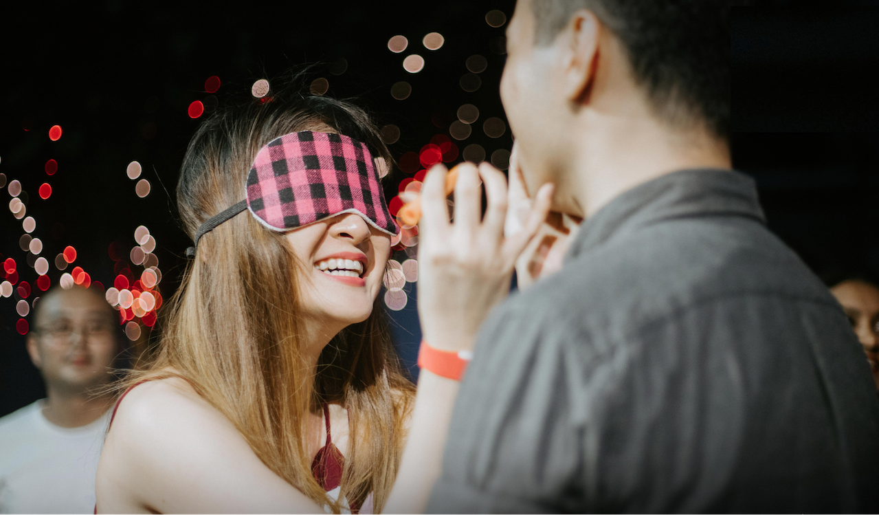 valentine's day blind dating (1) - icebreakers and daring games