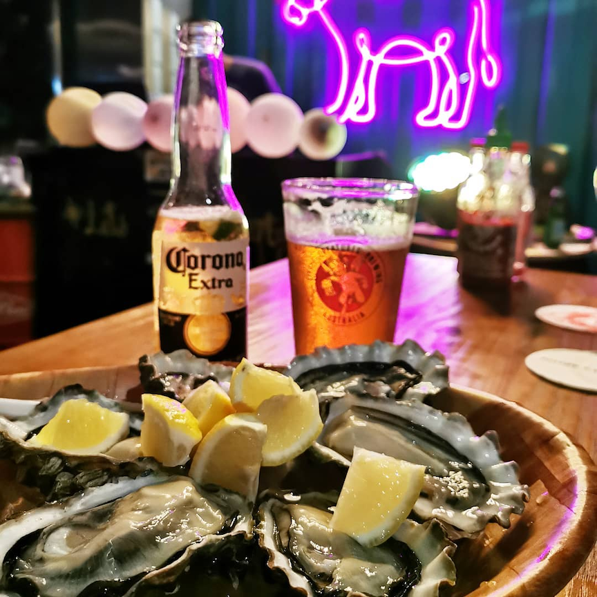 valentine's day blind dating at chimi's - fresh oysters