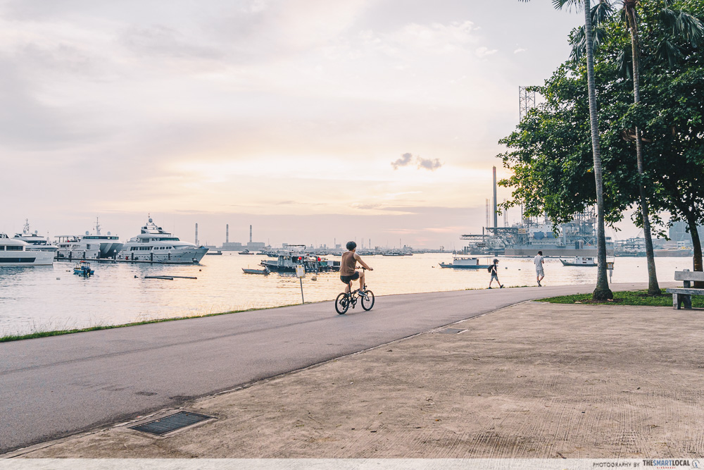 West Coast Park cycling
