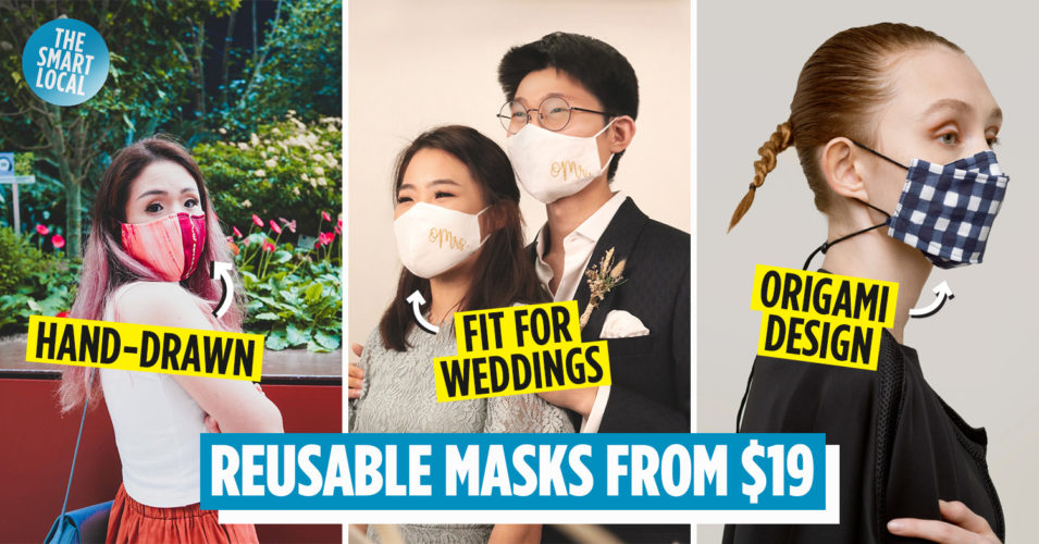 reusable face masks cover
